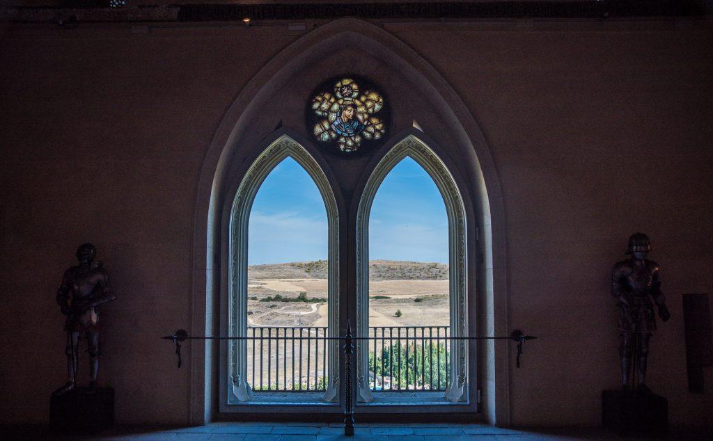 Gotisches Fenster - Alcázar de Segovia