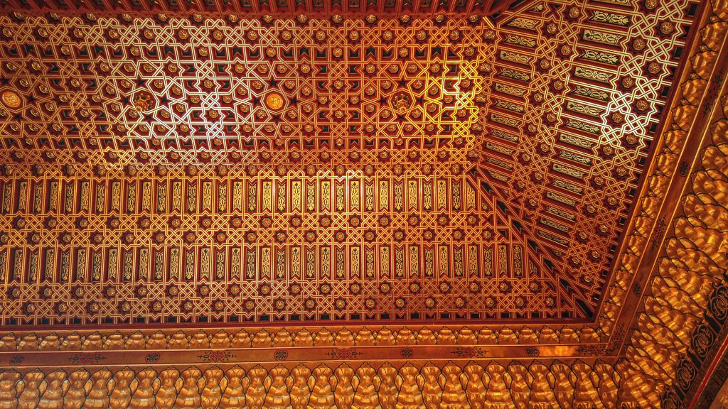 Detail Galeerensaal - Alcázar de Segovia
