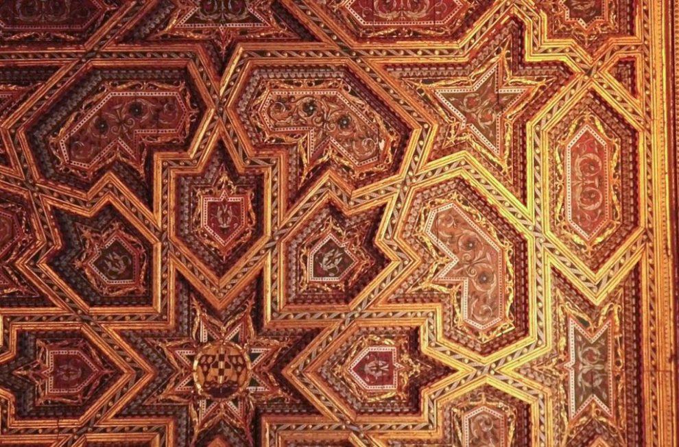 Decke Artesala - Kathedrale von Toledo