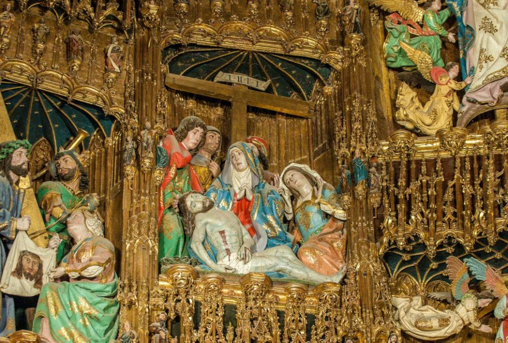 Schmerz der Gottesmutter - Retabel der Hauptkapelle - Kathedrale Toledo