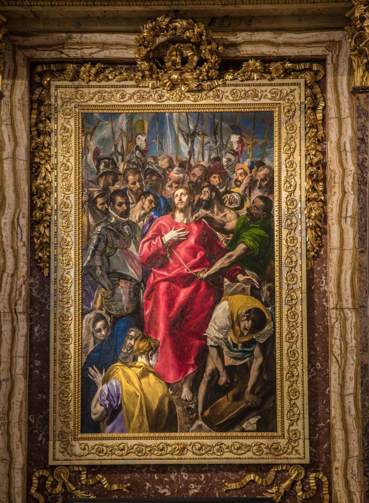 Die Entkleidung Christi - El Greco - Kathedrale von Toledo
