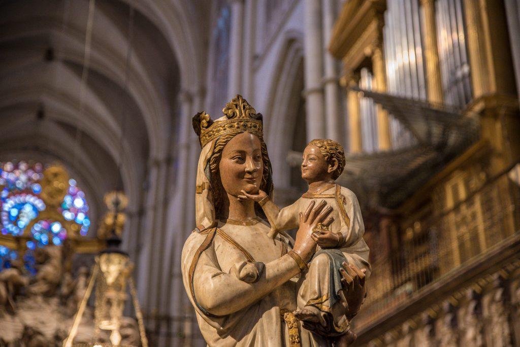 Maria - Chor- Kathedrale Toledo