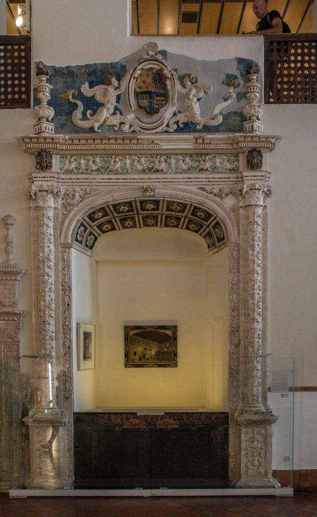 Portal Große Halle - Synagoga del Tránsito Toledo
