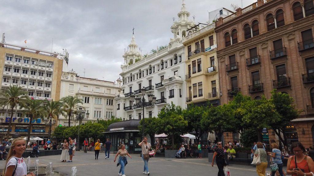 Südseite Plaza de las Tendillas - Cordoba