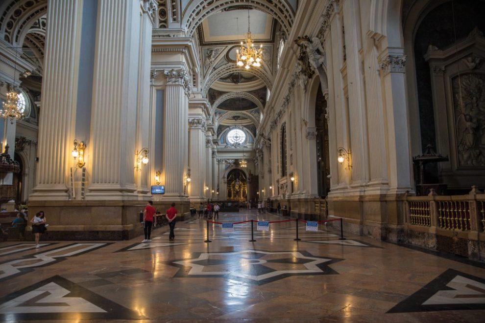 Nördliches Seitenschiff - Basilica de Nuestra Señora de Pilar - Zaragoza
