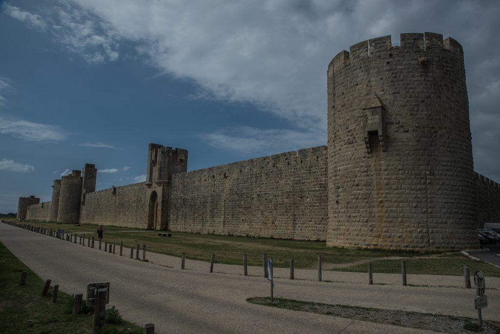 Aigues-Mortes - Festungsmauer