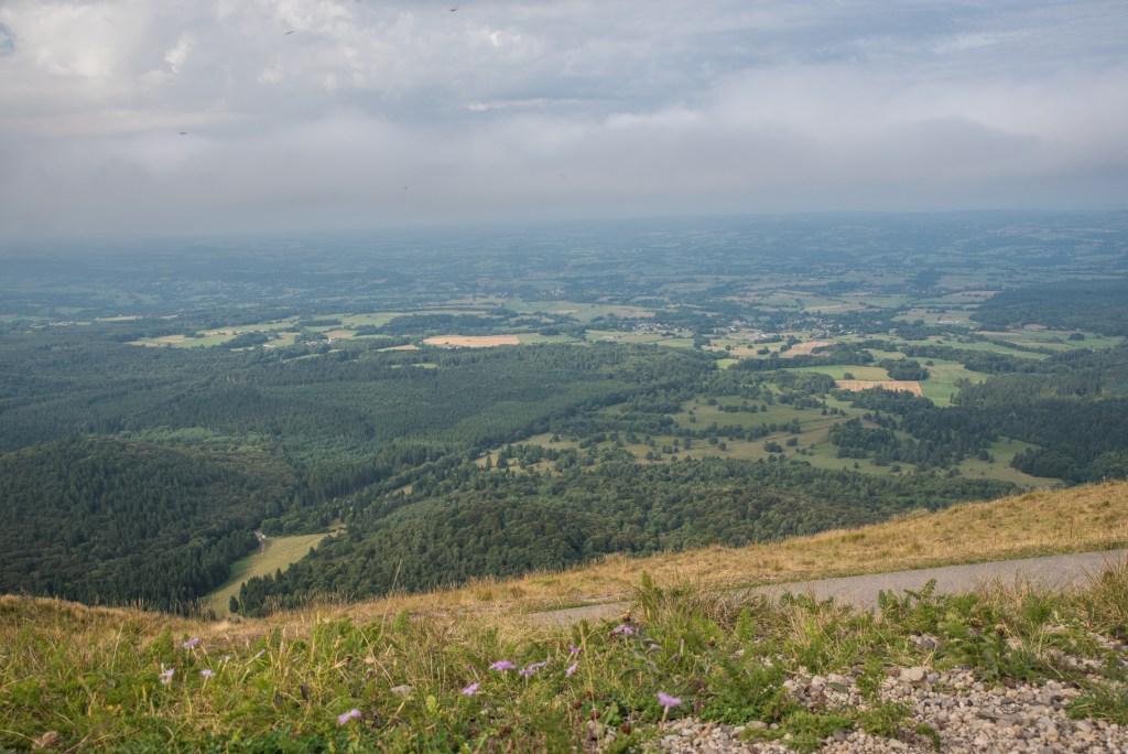 Blick nach Norden - Puy de Dôme