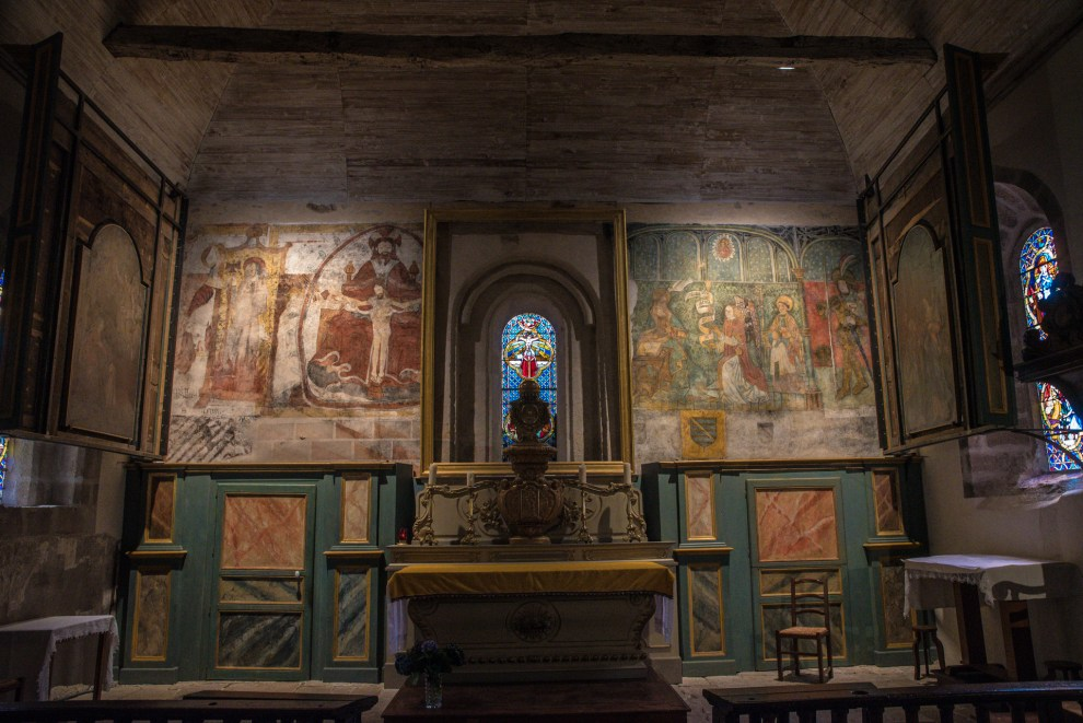 Altar - Eglise Saint Pardoux