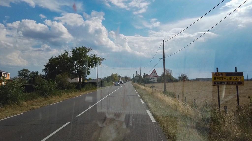 Unterwegs auf der D 994