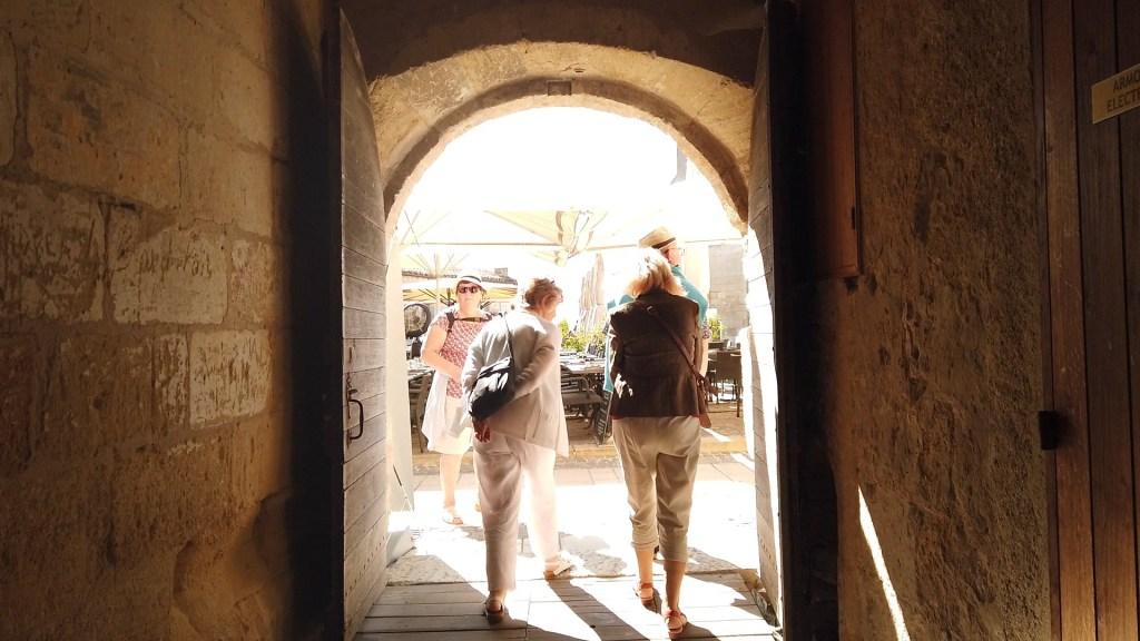 Auf den Place des Créneaux