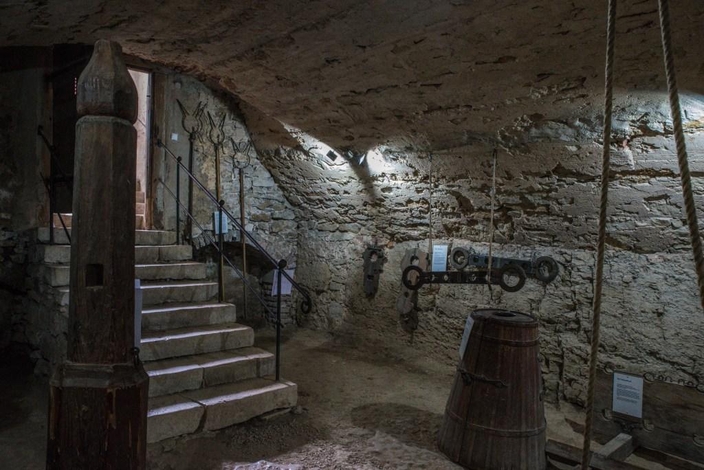 Folterkammer - Burg Pappenheim