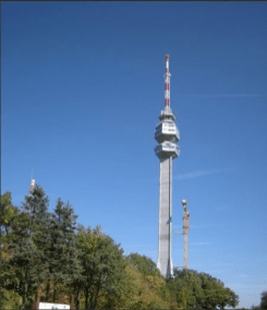 Avalski toranj - za pokrivanje prestonice i okoline