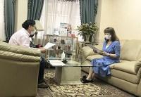 週刊誌12月1日発売! 「女性自身」の取材が行われました。
