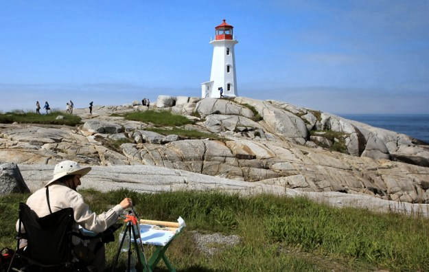 Phare de Peggy's Cove