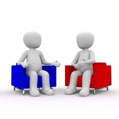 Gespräche mit Mitarbeitern