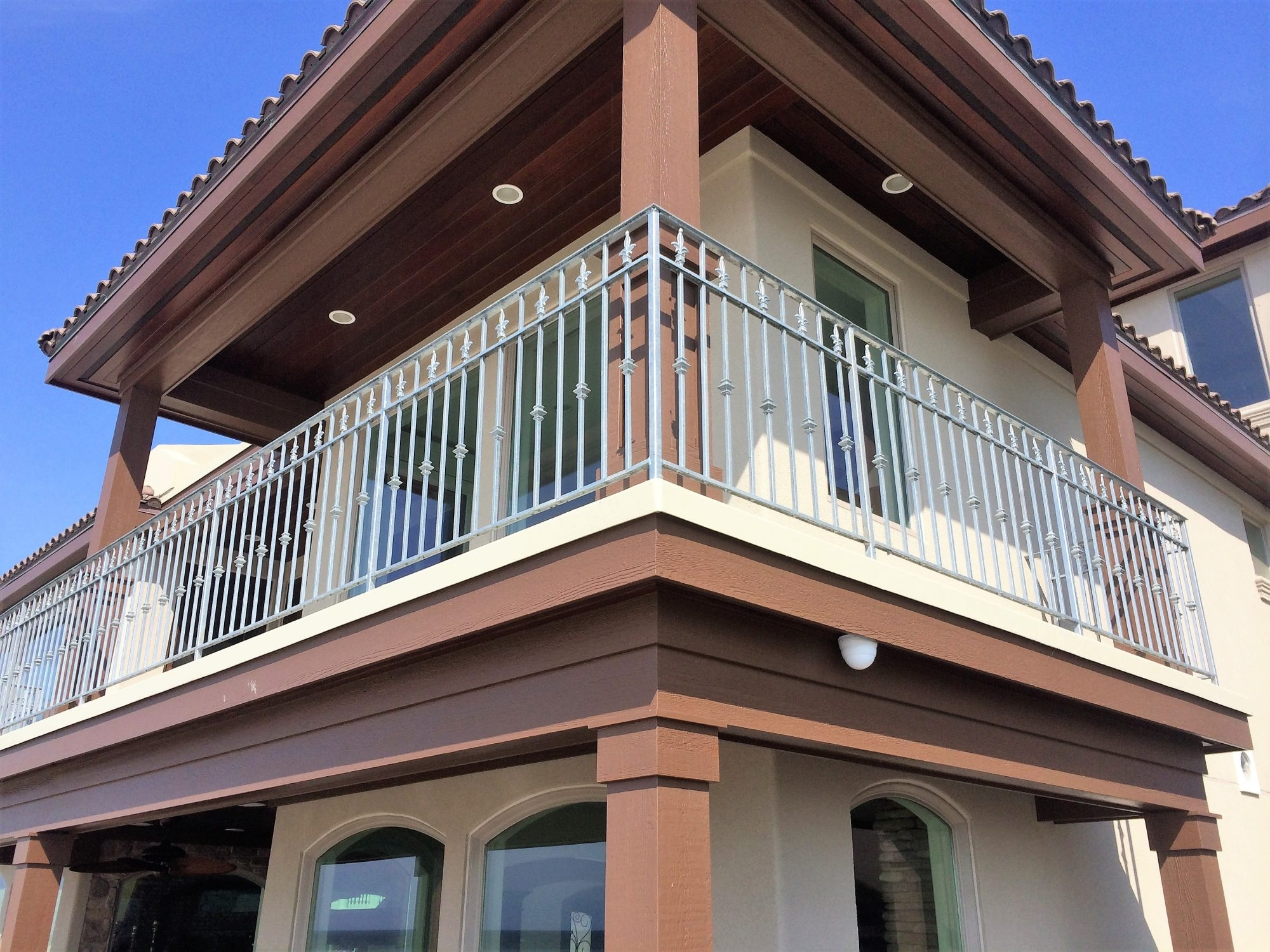Wrought Iron Railing Systems New Jersey Mitchell Welding Iron | Contemporary Wrought Iron Railings | Victorian | Stainless Steel | Glass | Wood | Decorative