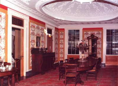 Demopolis AL Alabama Travel and Tourism  Visitors  Guide Dining Room  Historic Gaineswood