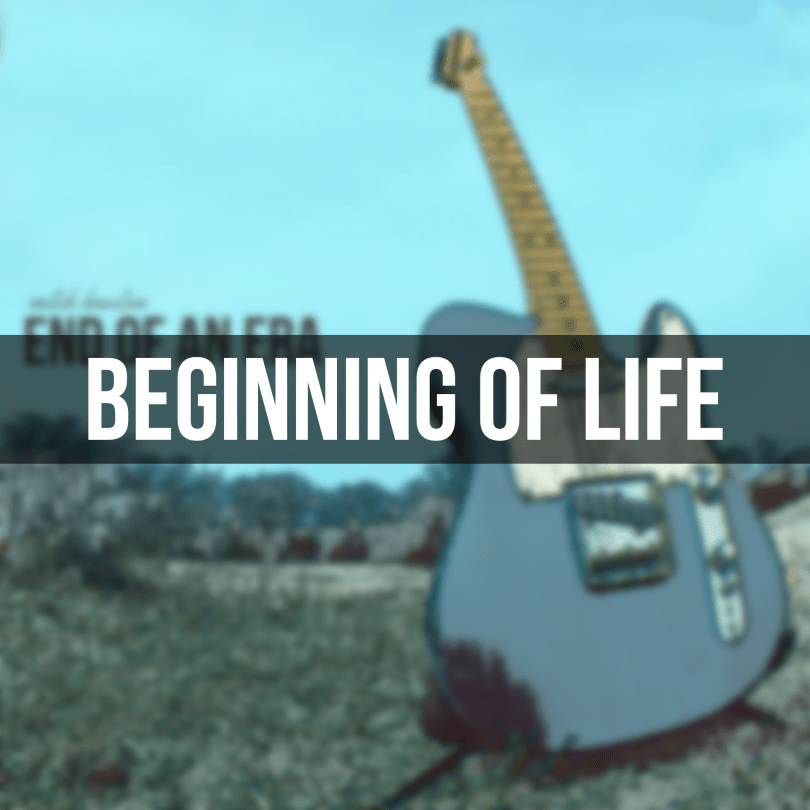 Beginning of Life - End of an Era EP | Mitch Houston
