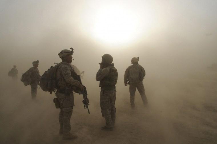 4-Brigade-25th-Infantry-Airborne-Kushamond, Afghanistan, July-09-2004