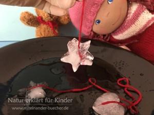Zaubereien mit Eiswürfeln - Teil 2