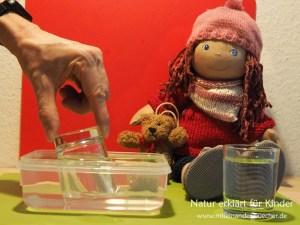 Das Gummibärchen-tauch-Experiment - Was hat das mit Luft zu tun?