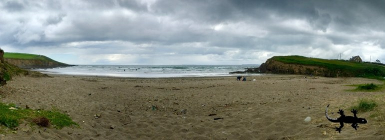 My private beach (without surfers)