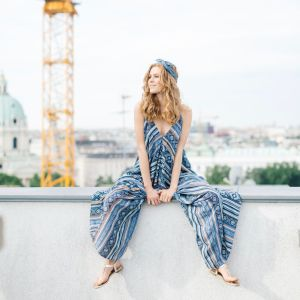 mit Handkuss_Jumpsuit_Hippie Tribal Blue