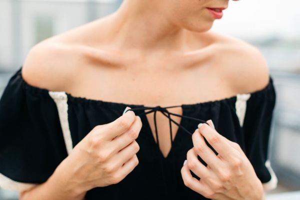 mit Handkuss_Playsuit_Jumpsuit_Off Shoulder Black