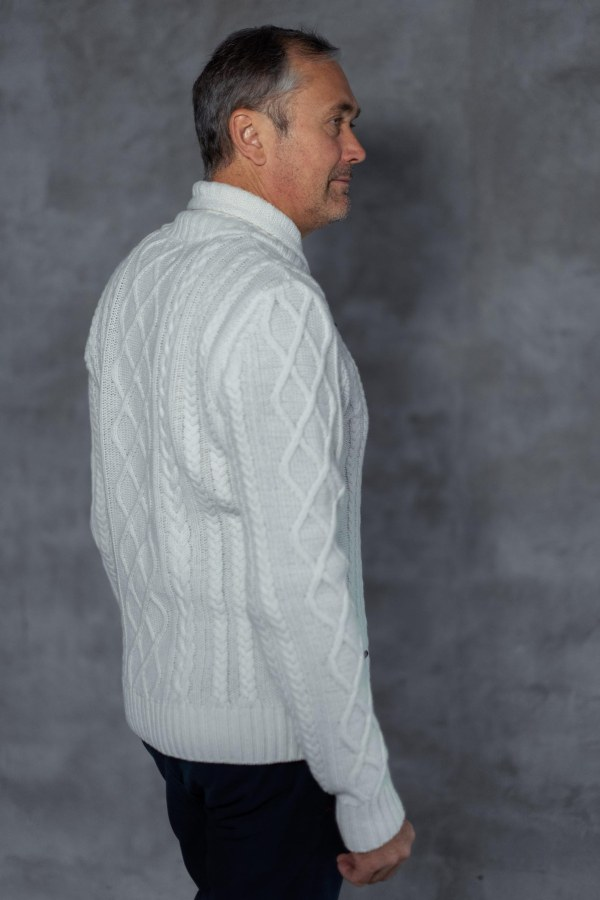 Mens sweater ARTUR WH back