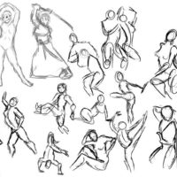 Timed Figure Sketches