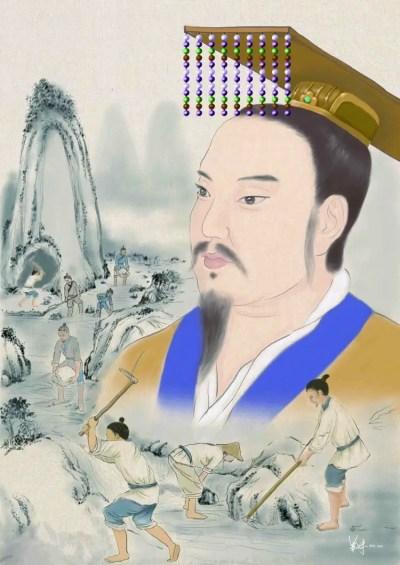 Y EL GRANDE  Fundador de la Primera Dinastía China