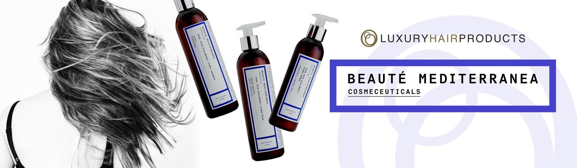Beauté Mediterranea cosmeceuticals - Luxury hair products
