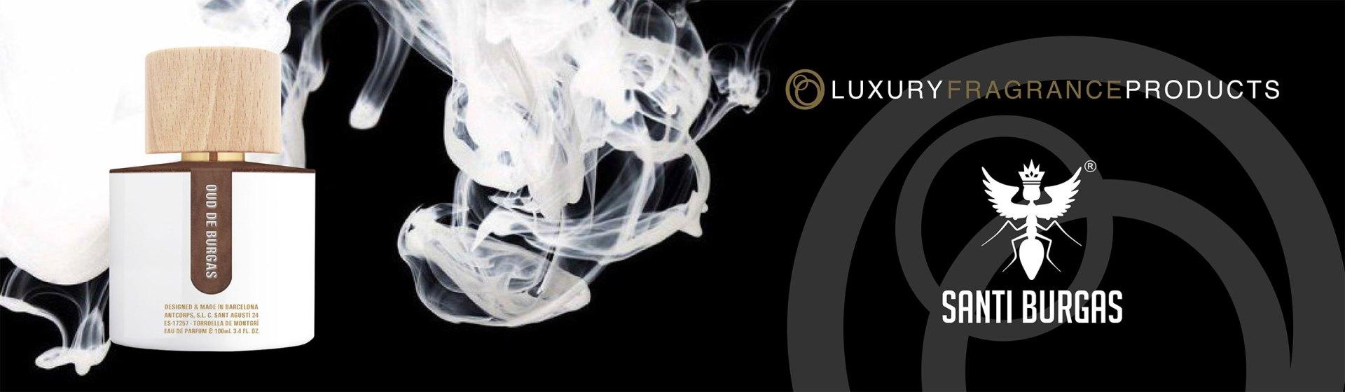 Santi Burgas luxury fragrance products