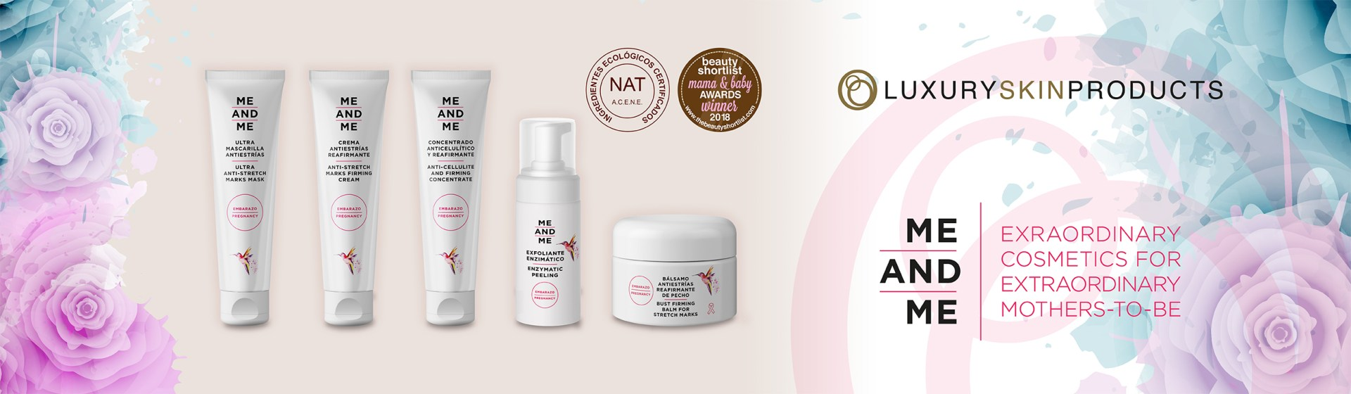 Me and Me - Extraordinary cosmetics for extraordinary mothers-to-be