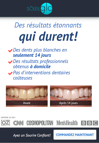 kit pour le blanchiment des dents