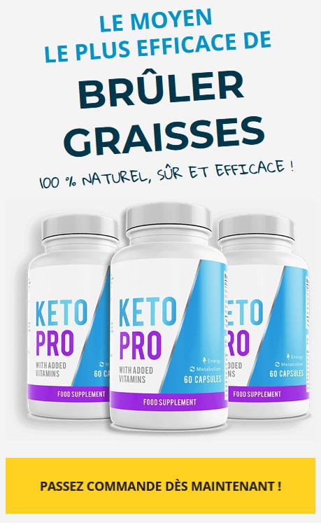Pourquoi Keto PRO est-il si efficace ?!