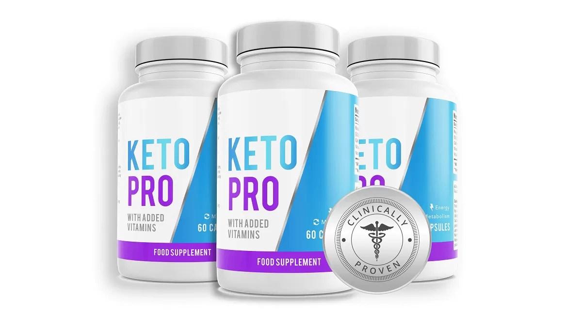 KetoPro – Les gélules diététiques Keto pour commencer votre voyage Keto