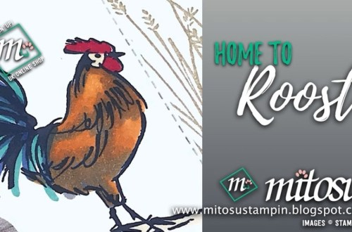 Home To Roost Stamping' Up! Card Idea from Mitosu Crafts