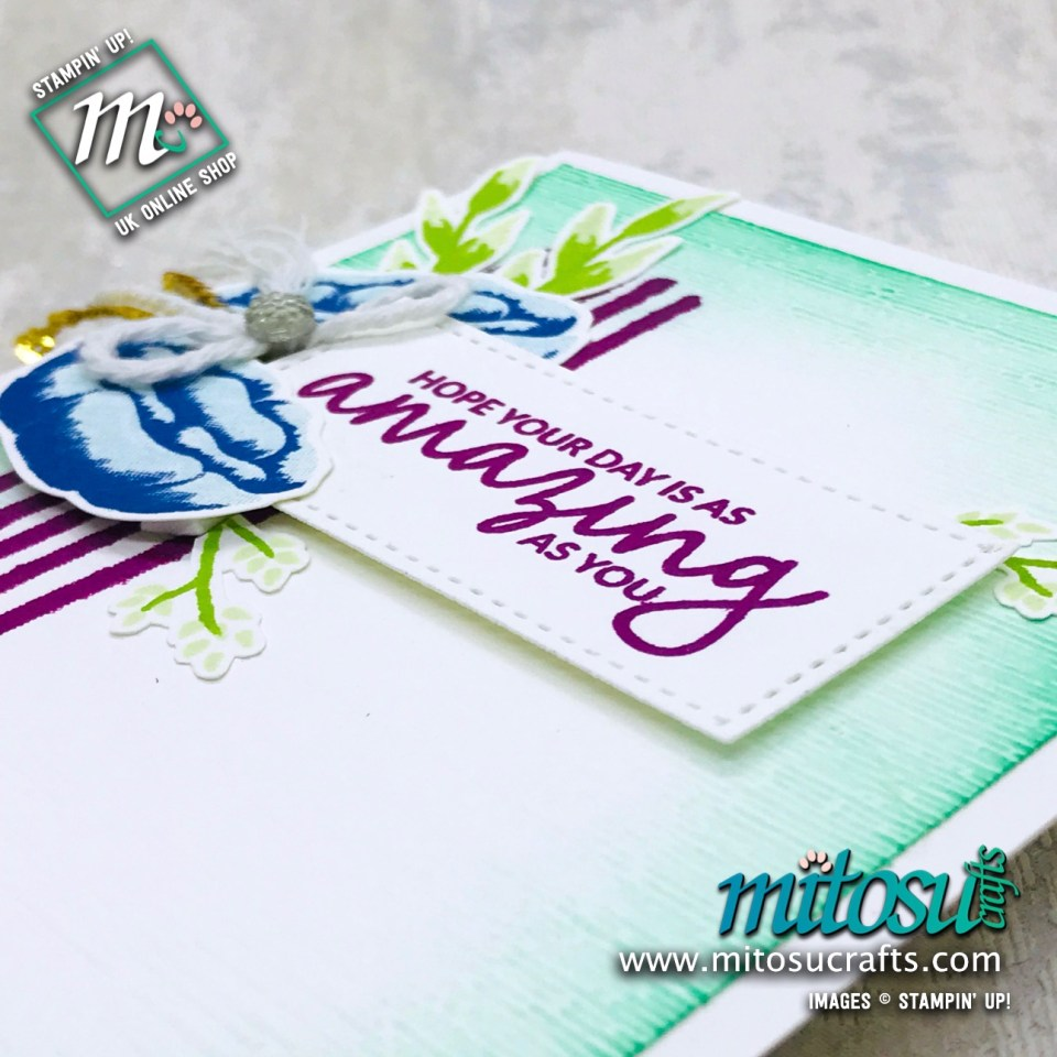 Incredible Like You Stampin' Up! Card Idea from Mitosu Crafts