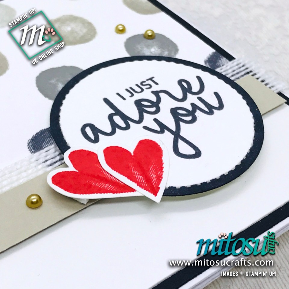 Incredible Like You Stampin' Up! Card Idea for Stamp Review Crew from Mitosu Crafts