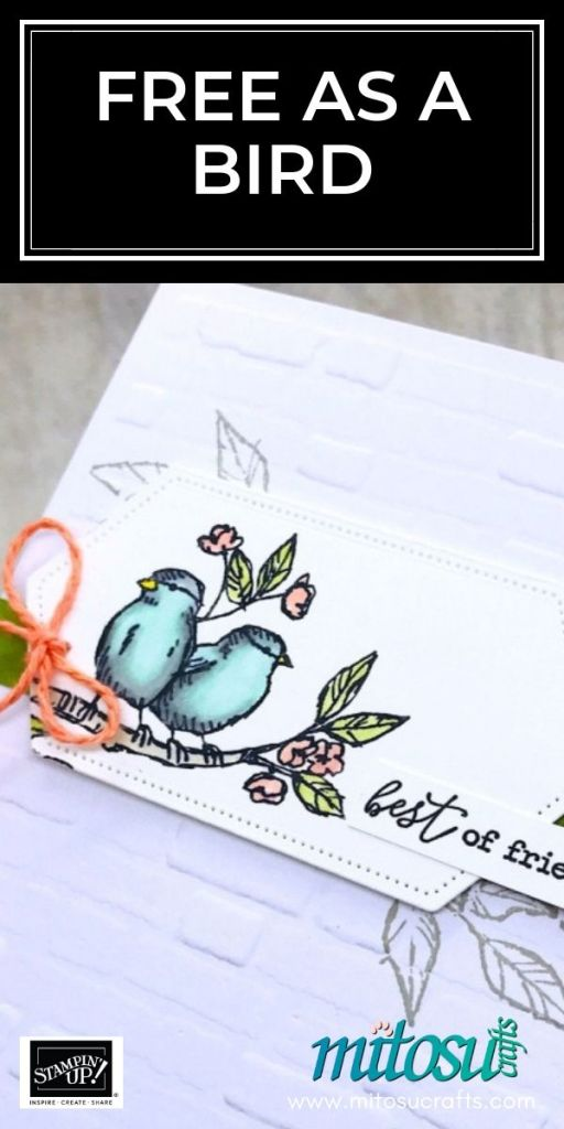 Free As A Bird by Stampin' Up! order online from Mitosu Crafts 24/7