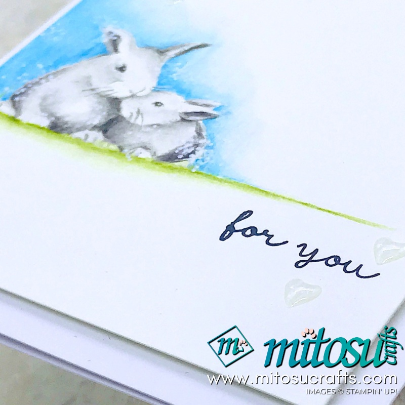 Wildly Happy Bunny Rabbit Stampin' Up! from Mitosu Crafts