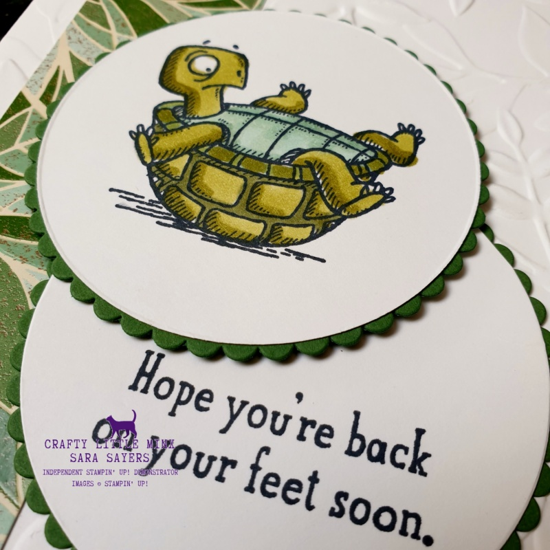 Back On Your Feet stamp set ideas from Mitosu Crafts