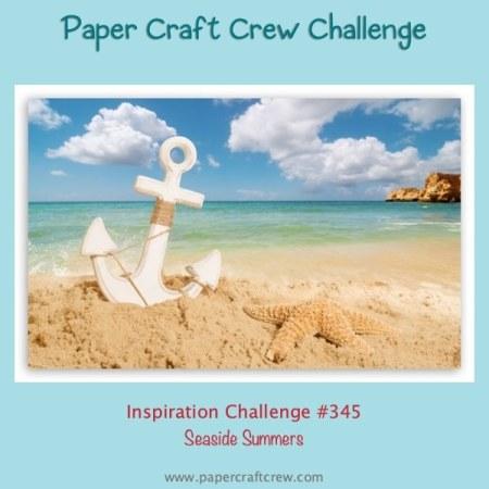 Paper Craft Crew Seaside Summers Inspiration Challenge from Mitosu Crafts