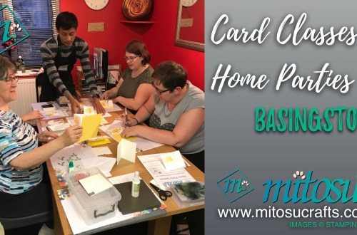 Card Classes & Home Parties in Basingstoke & Hampshire