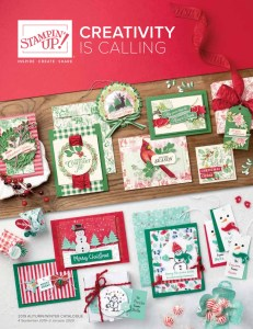 Stampin' Up! Autumn/Winter Catalogue available from Mitosu Crafts
