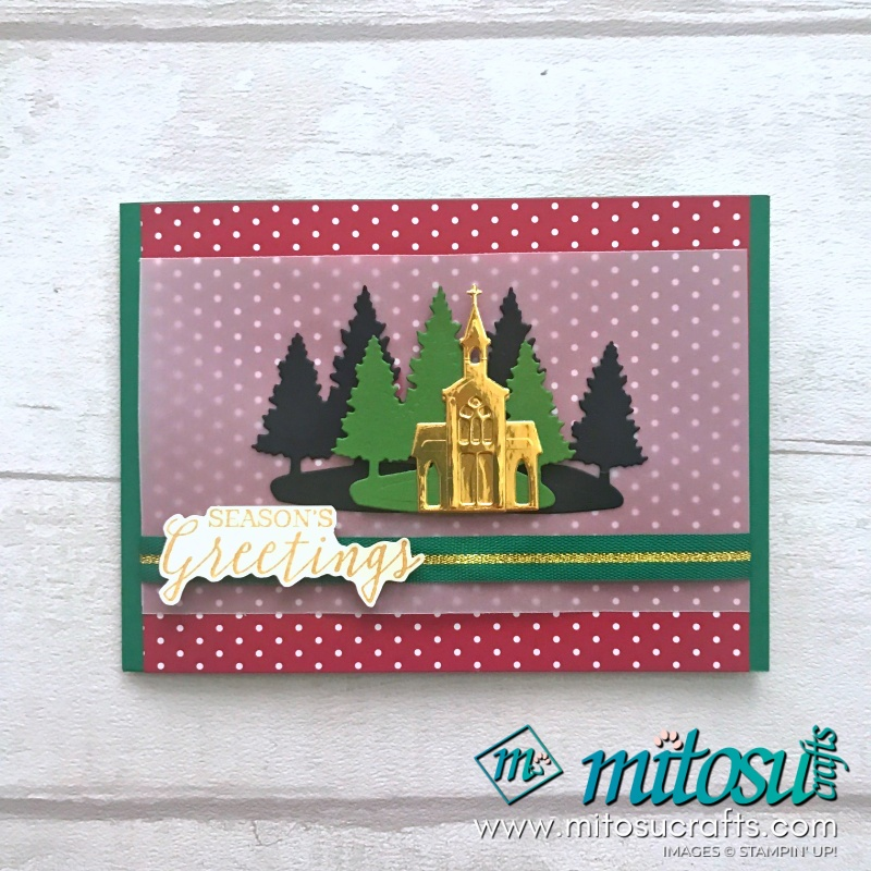 Perfectly Plaid & Wrapped in Plaid DSP available from Mitosu Crafts