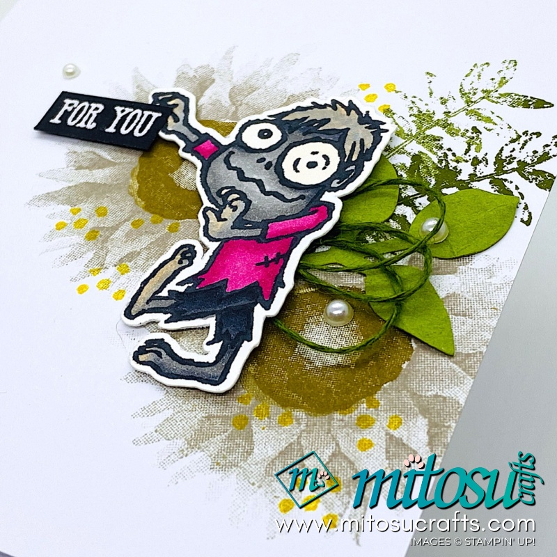 Boo To You Stampin Up! Card Ideas for Paper Craft Crew from Mitosu Crafts
