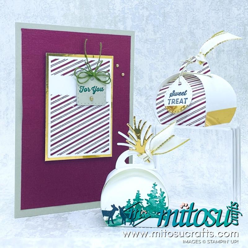 Tiny Keepsakes Card and Snow Front Tiny Keepsakes Box