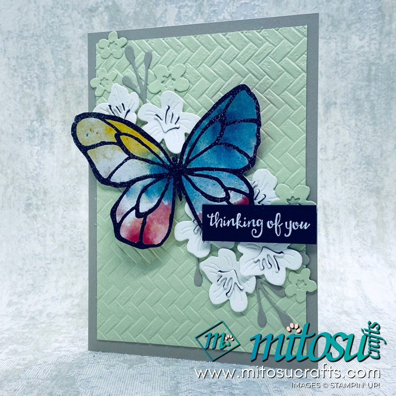 Beautiful Day Forever Blossoms Stampin' Up Cardmaking Ideas for Stamp Review Crew from Mitosu Crafts